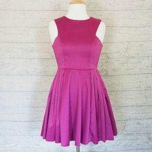 [LF] Paper Heart - NWT- Satin Party Mini Dress